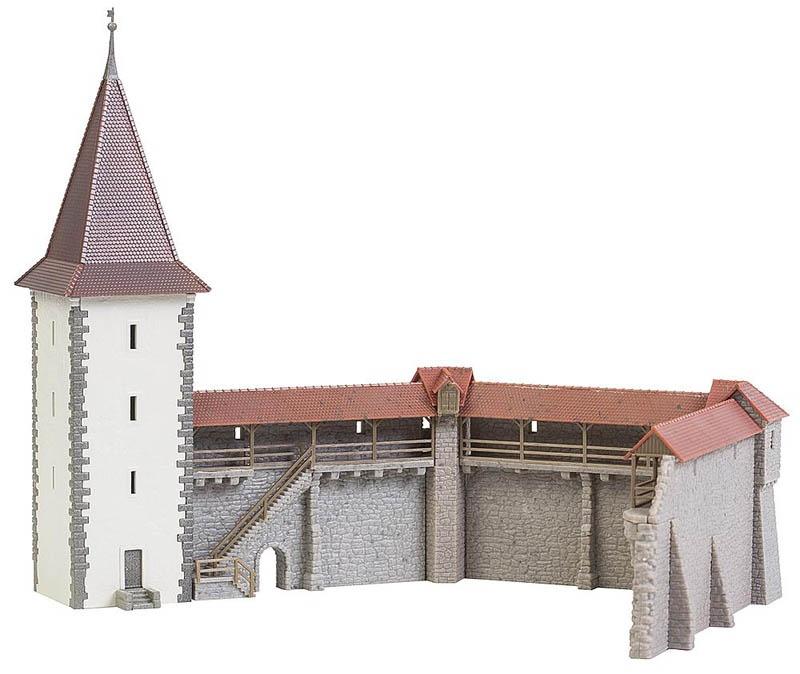 FALLER 232355 Altstadtmauer-Set Bausatz N  | Grüne, neue Technologie
